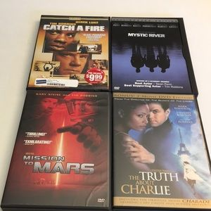 Tim Robbins DVD Movie Bundle